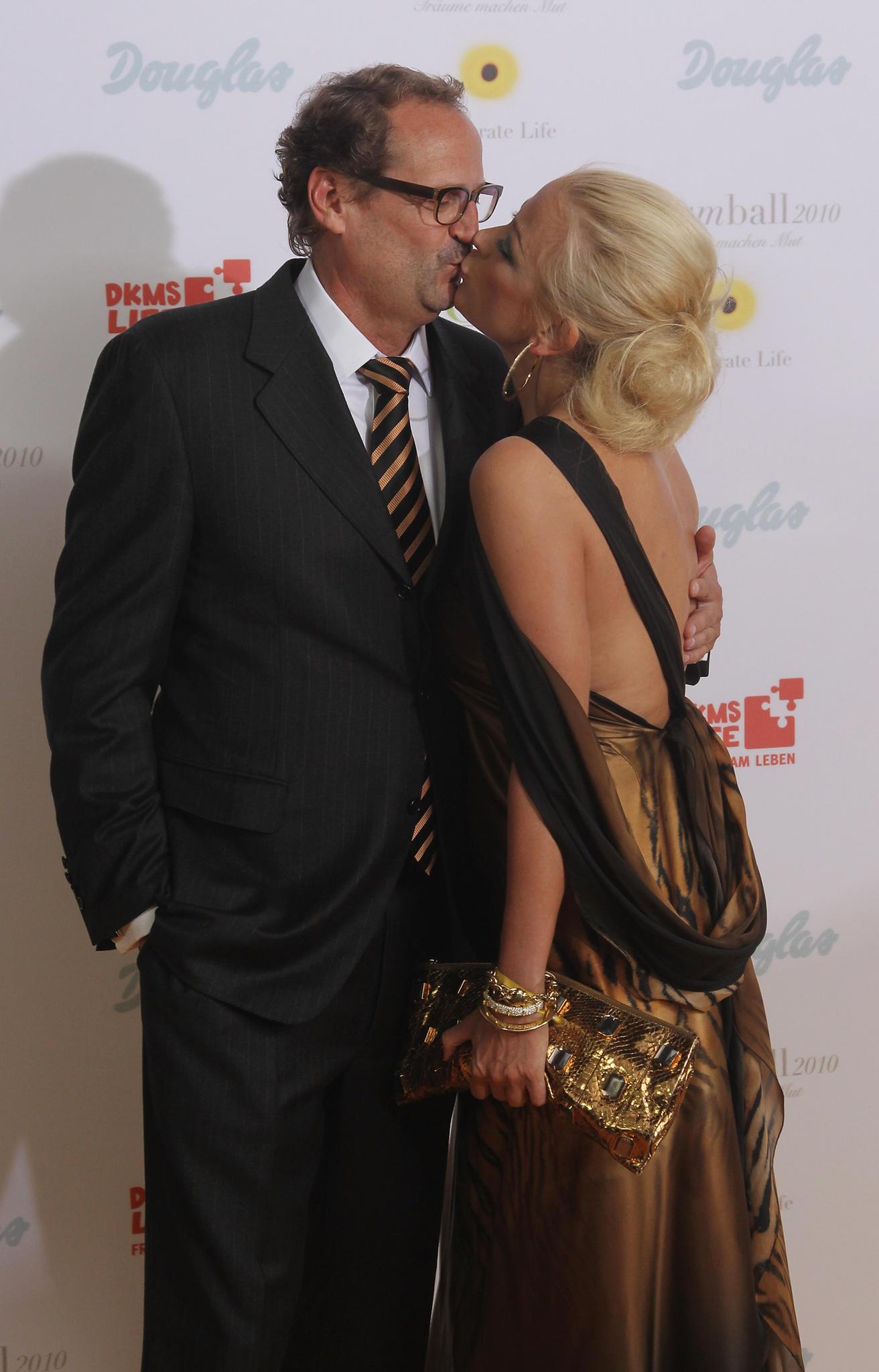 Jenny Elvers und ihr Ex-Ehemann Goetz Elbertzhagen, mit dem die Schauspielerin zehn Jahre lang verheiratet war