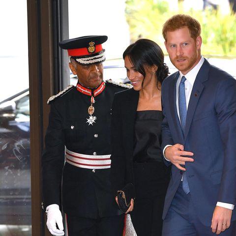 Herzogin Meghan besucht mit Prinz Harry die Verleihung desWellChild Awards.