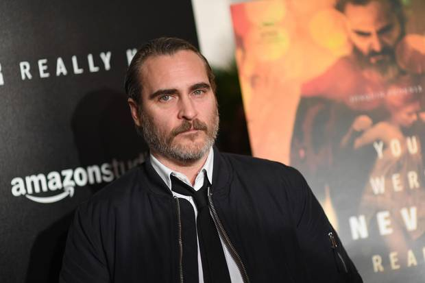Joaquin Phoenix im April 2018