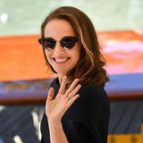Schauspielerin Natalie Portman bei ihrer Ankunft in Venedig.