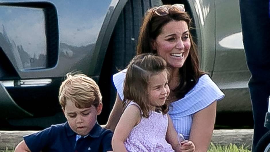 Prinz George, Herzogin Catherine, Prinzessin Charlotte