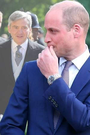 Michael Middleton + Prinz William