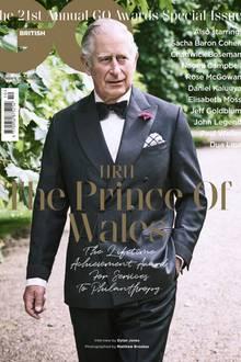 Prinz Charles auf der Oktober-Ausgabe der britischen GQ