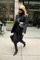 Rosie Huntington-Whiteley trägt einen echten Herbsttrend: Rollkragenpullover!