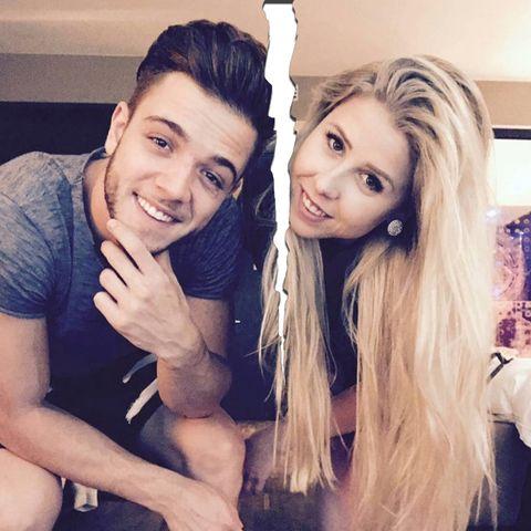 Luca Hänni und seine Freundin Tamara.