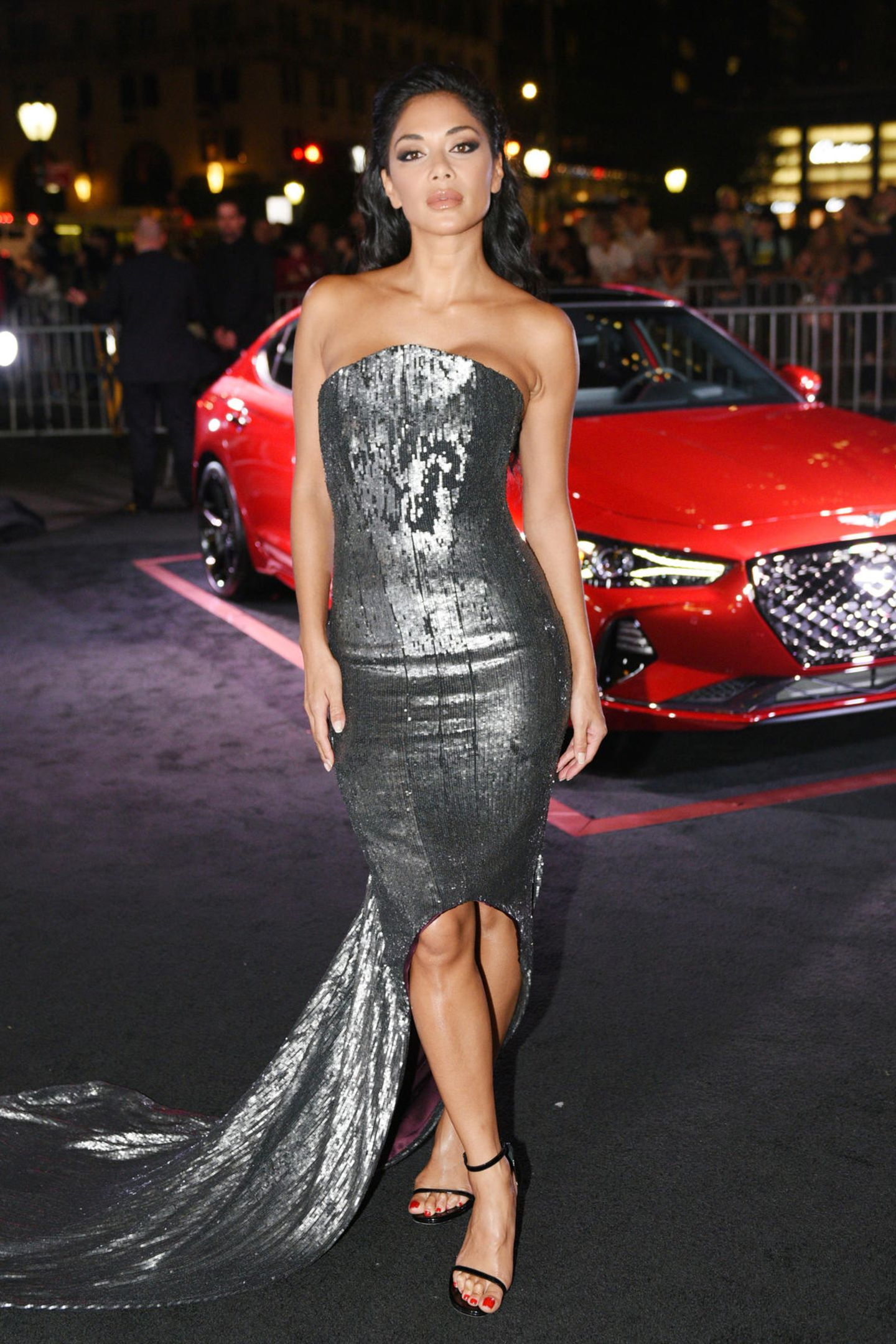 Sexy in Silber: Nicole Scherzinger