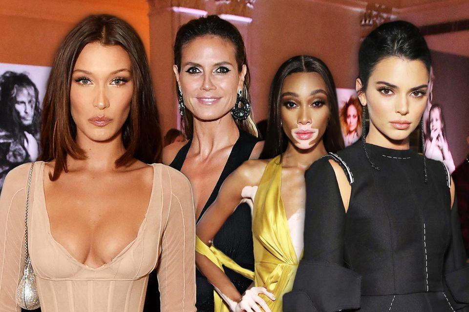 """Harper's Bazaar """"Icons"""": Die Tops und Flops des Fashion-Events mit Bella Hadid, Heidi Klum und Co."""