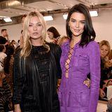 Die Schau von Longchamp ist ein großes Highlight. Das hat drei Gründe: die Gäste, die Location, die Kollektion. Unter anderem sind Kate Moss und Kendall Jenner da. Wow!