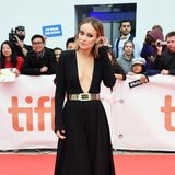 """Ganz tiefe Einblicke gewährt uns Olivia Wilde bei der Toronto-Premiere von""""Life Itself""""."""