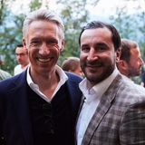 Best Buddies: Andreas Fuhlisch (Mediaplus) und Adil Kachout (Quiris Healthcare)