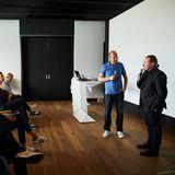 No Limits!Joey Kelly erzählt, wie er seine Ziele erreicht. Der spannende Vortrag wurde begleitet von Horst von Buttlar (Capital), der auch eine kleine Fragestunde im Anschluss moderierte.