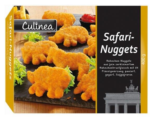 Safari-Nuggets wurden beim Discounter Lidl verkauft