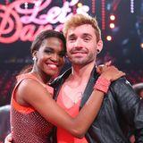 """2015  Daniel Küblböck nimmt an der RTL-Tanz-Show """"Let's Dance""""teil und belegt mit seiner TanzpartnerinOtlile Mabuse den sechsten Platz."""
