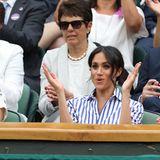 Beim Wimbledon Finale feuern Herzogin Catherine und Herzogin Meghan die Tennisspielerin Serena Williams an. Herzogin Meghan ist mit derUS-Amerikanerin gut befreundet und fiebert von der Fan-Tribüne mit.