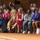 Danielle Brooks, Carmen Electra, Judith Light, Cynthia Nixon, Whoopi Goldberg, Tiffany Haddish and Sarah Hyland besuchen die Fashion-Show von Christian Siriano