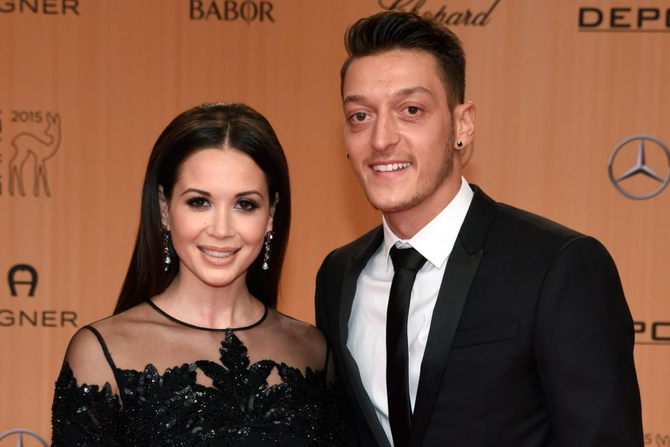 Liebe mit Höhen und Tiefen: Mandy Grace Capristo und Mesut Özil