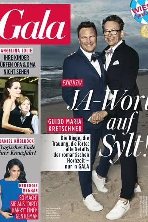 Exklusiv in GALA: Die Hochzeit von Guido Maria Kretschmer
