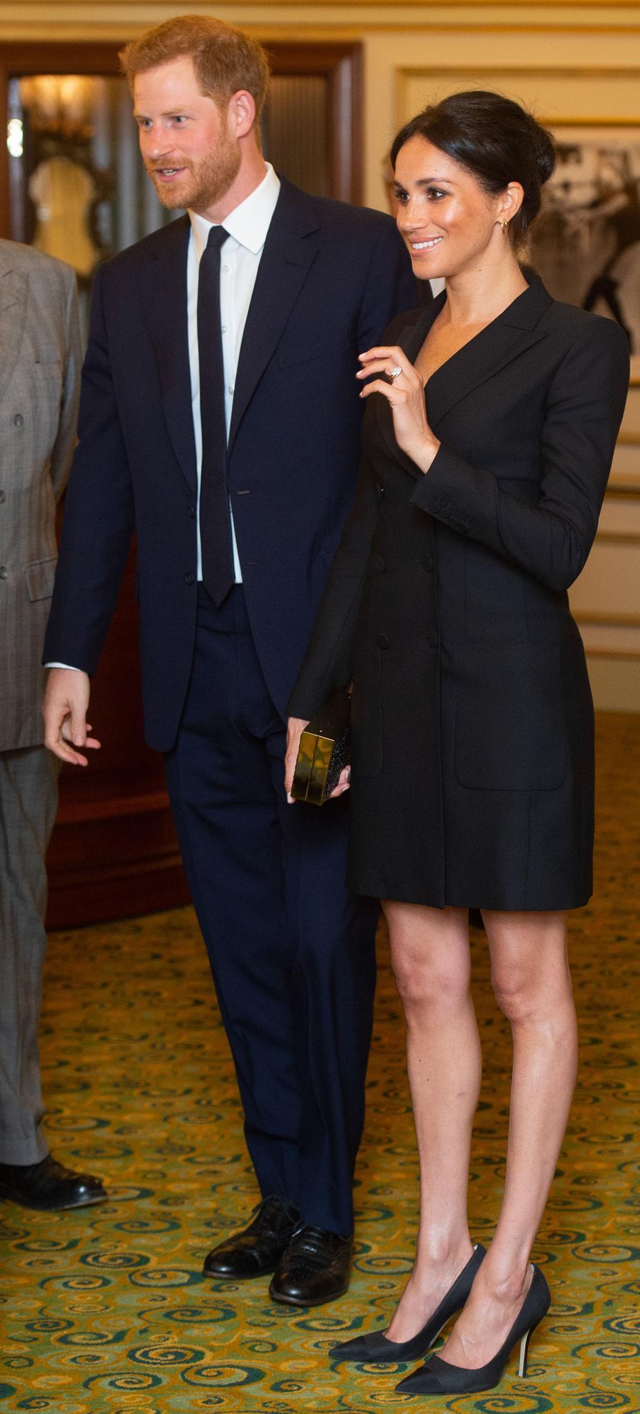 Hohe optische Ansprüche stellt die Hollywooderprobte Schauspielerin Meghan Markle nicht nur an Prinz Harry, sondern auch an sich selbst