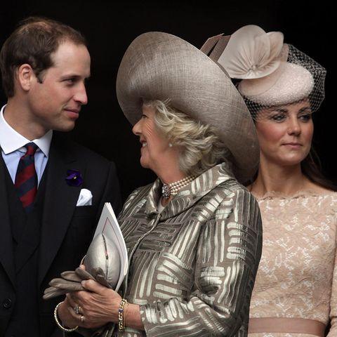 Prinz William, Herzogin Camilla, Herzogin Catherine