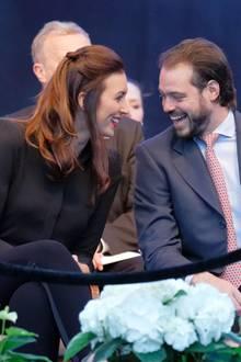 22. Juni 2018  Verliebte Blicke zwischen Prinzessin Claire und Prinz Felix von Luxemburg. Beim Nationaltag in Luxemburg kann das Pärchen die Augen kaum voneinander lassen.