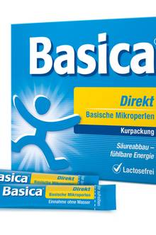 """Bringt den Säure-Basen-Haushalt mit Zink in Balance """"Basica Direkt"""", 30 Stk., ca. 15 Euro"""