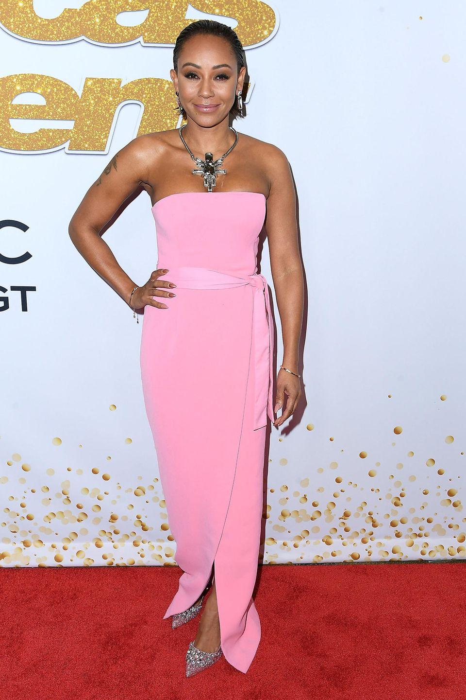 Mel B konnte sich nie von ihremverrücktem Style trennen und zieht auch in 2018 noch alle Blicke auf ihre extravaganten Looks.