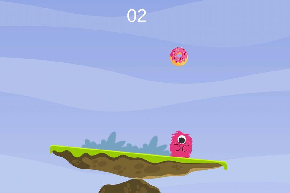 """Das Spiel """"Candy Monster"""" soll """"Planks"""" mit dem Spaß am Spiel verknüpfen."""