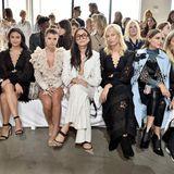 Die Front Row von Zimmermann während der New Yorker Fashion Week im September 2018.
