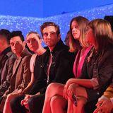 Die Front Row bei Calvin Klein