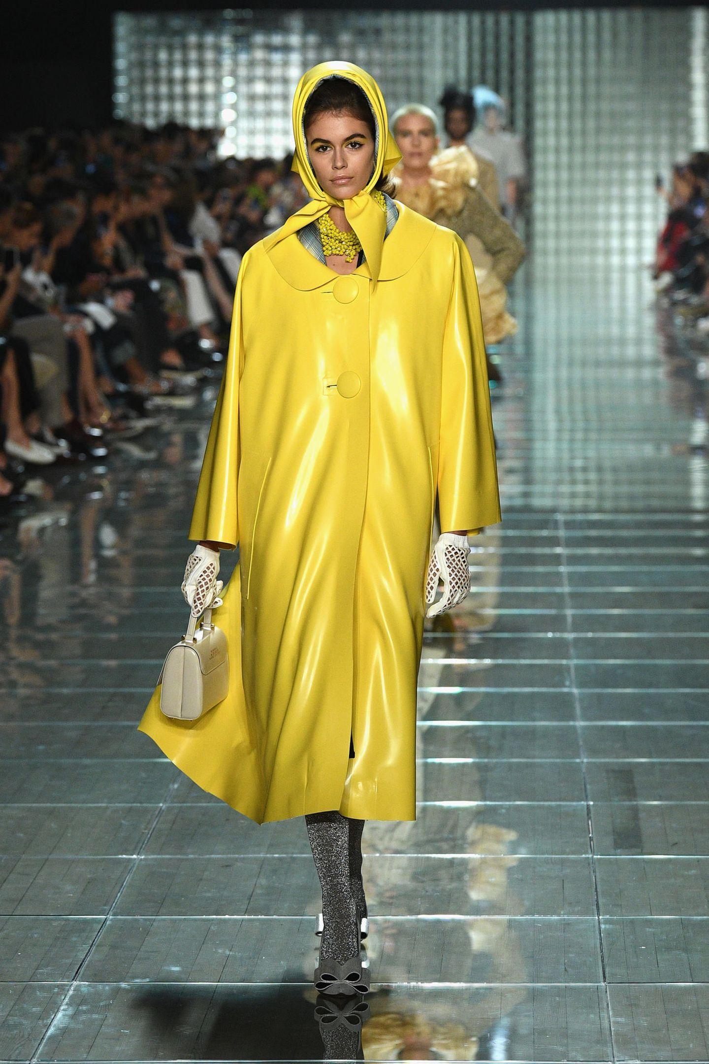 Kaia Gerber läuft auch für Marc Jacobs.