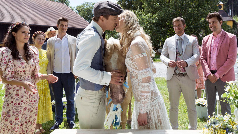 Sturm Der Liebe Hochzeit Alicia Und Viktor Sagen Ja Die Romantischen Fotos Gala De