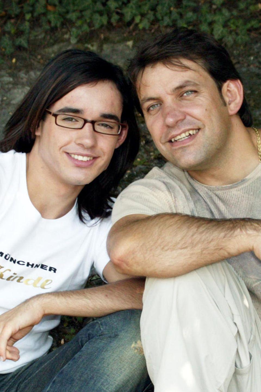 Daniel + Günther Küblböck 2003 in München