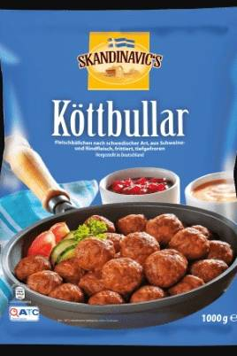 """""""Skandinavic' Köttbullar, 1000 g"""""""