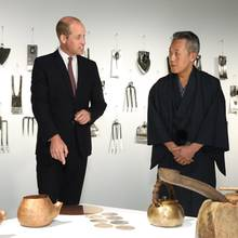 Prinz William bei seinem Besuch im japanischen Kulturzentrum