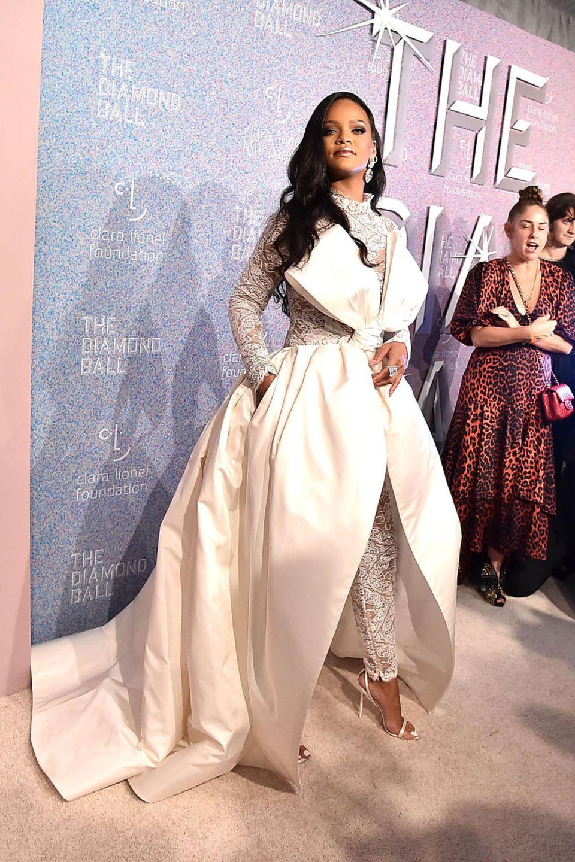 Bling, Bling: Beim 4. Diamond Ball in New York funkeln die Gäste mit Gastgeberin Rihanna auf dem Red Carpet um die Wette.