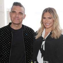 Robbie Williams und Ehefrau Ayda freuen sich über Nachwuchs Coco
