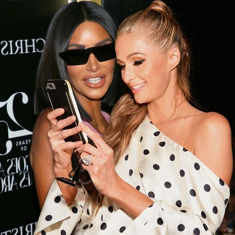 Kim Kardashian, Paris Hilton.