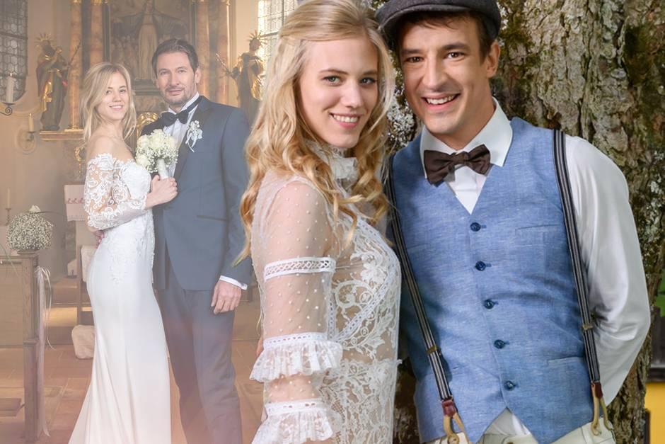 """""""Sturm der Liebe"""" zeigt in Staffel 14 zwei Hochzeiten: Erst heiratet Alicia Christoph, nach der Scheidung dann Viktor"""