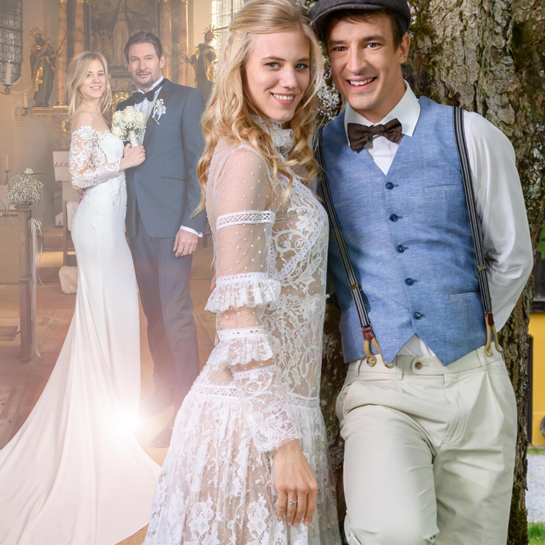 Hochzeit Bei Sturm Der Liebe Welches Brautkleid Von Alicia Ist