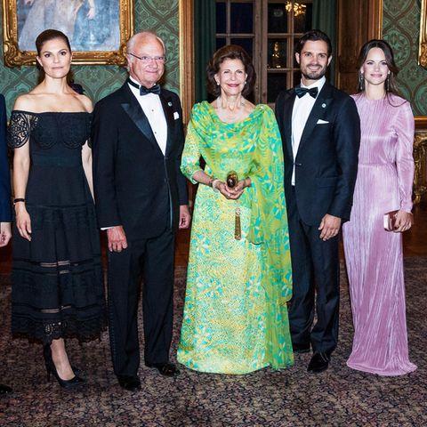 Prinzessin Victoria, Prinzessin Sofia und Co.: Erster Blick aufs Schwedendinner