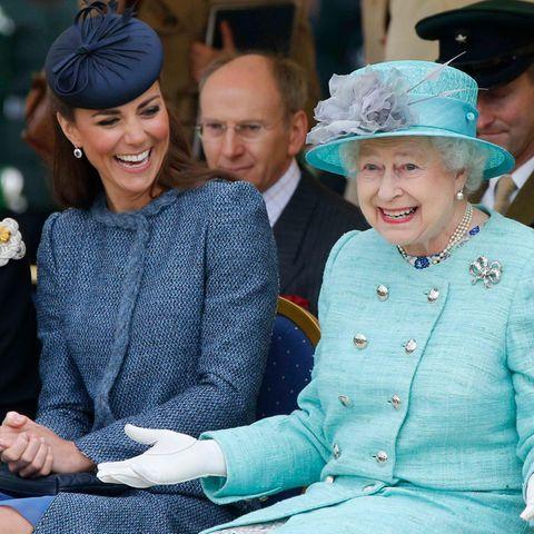 Herzogin Catherine, Queen Elizabeth