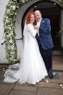 15. September 2018  Einen Tag nach der standesamtlichen Hochzeit folgt für Ralph Siegel und Laura Käfer die kirchliche Trauung in München.