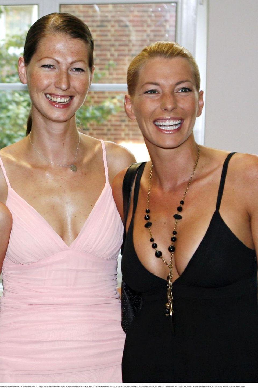 Marcella Siegel mit ihrer Schwester Giulia Siegel