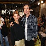Fashion-Week-ProfisPixie Geldof und Nick Grimshaw sind bei House of Holland zu Gast.