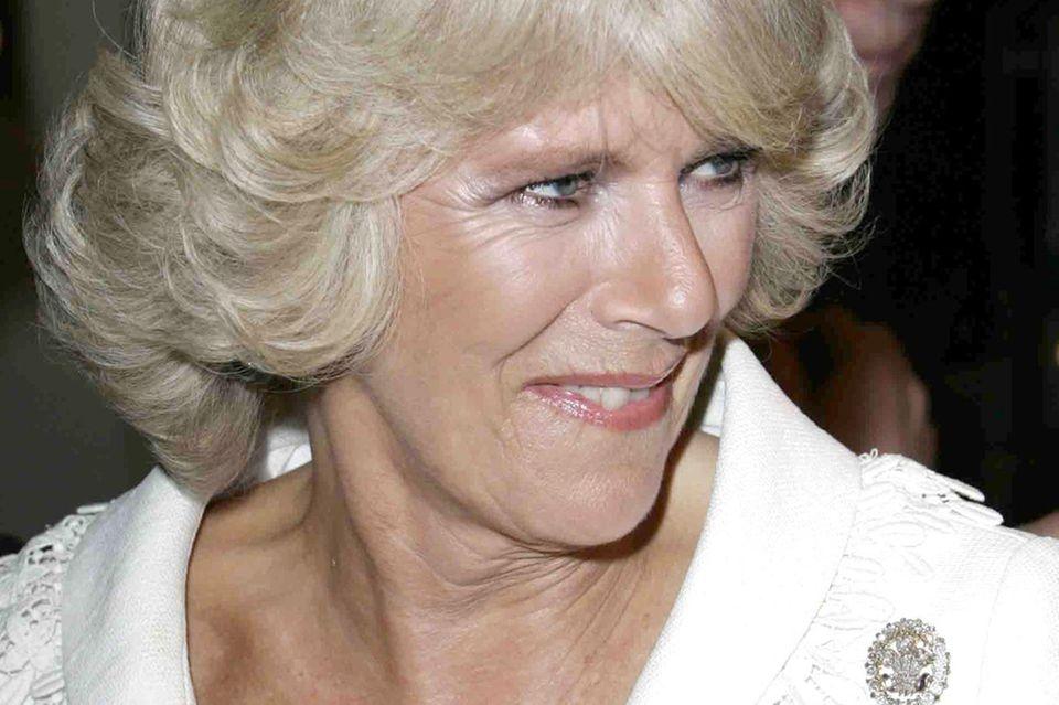 """Herzogin Camilla auf der Film-Premiere von """"'The History Boys"""" imOdeon Kino"""