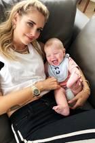 16. September 2018  Beim Chillen auf der Couch mit Mama Chiara Ferragni hat der kleine Leone mächtig Spaß. Quietschvergnügt lacht der mittlerweile fünf Monate alte Sohn der Star-Bloggerin in die Kamera.