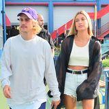 6. September 2018  Eine New Yorker Fashionweek ohne Justin Bieber und Hailey Baldwin? Auf keinen Fall! Das Pärchen stiefelt selbstbewusst zur John Elliot Fashionshow.