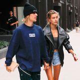 14. September 2018  So richtig happy sehen Justin und Hailey trotz Hochzeitsspekulationen ja nicht aus. Hand in Hand mit ernster Miene spzieren die beiden durch die Straßen von New York.