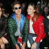 Nicht nur Charlotte Casiraghi, auch ihr Bruder Pierre und besonders Schwägerin Beatrice Borromeo sind Fashionistas. Hier besuchen sie warm verpackt die Moncler-Show während der Pariser Modewoche im März 2015.