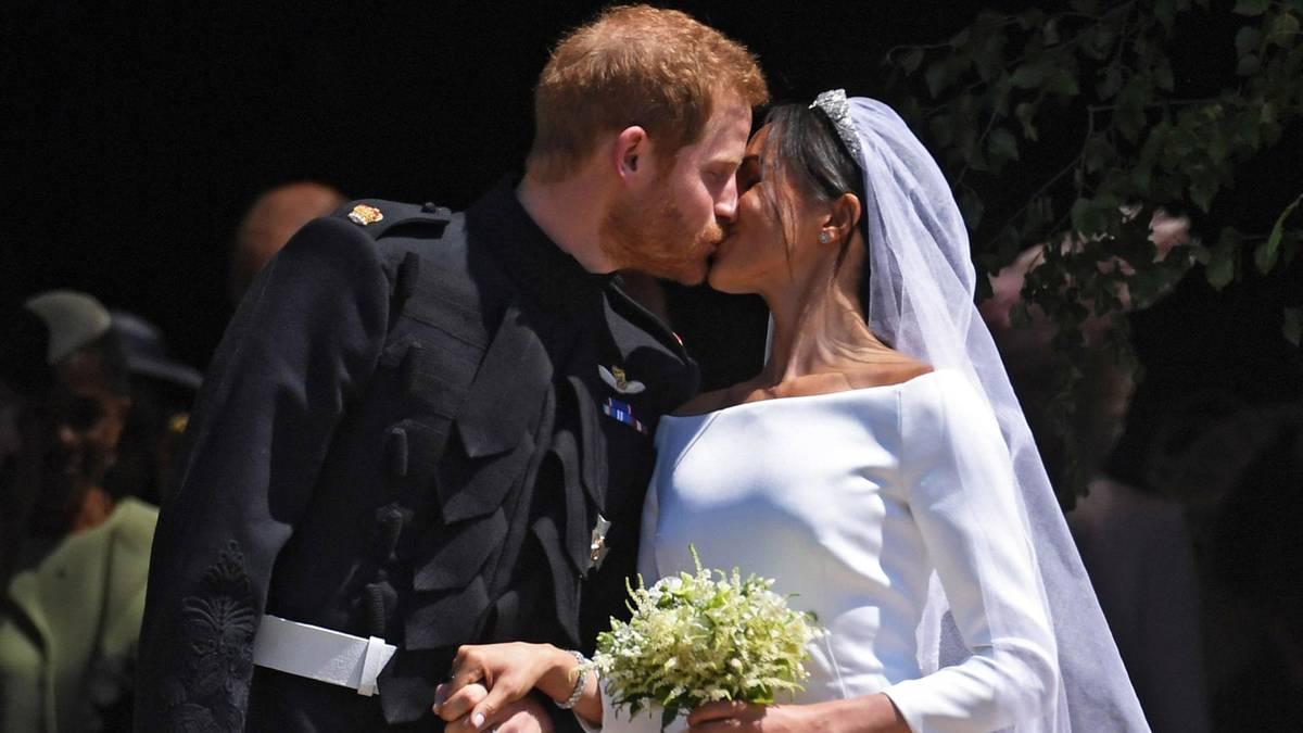 Prinz Harry + Meghan Markle: Die Trauung im Video